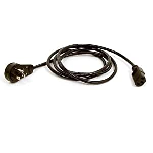 power cord wire diagram belkin power cord wire diagram amazon.com: belkin 6ft ac power replacement cord with flat ...