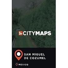 City Maps San Miguel de Cozumel Mexico