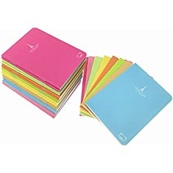 24pcs Mini Notebook,Candy Colors Portable Pocket Steno Memo Notebook MiniDaily NotePad(8 Colors,Ruled Pages)