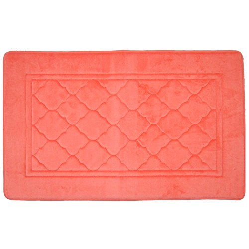 Spa Retreat Memory Foam Bath Mat/rug Set : Non Skid