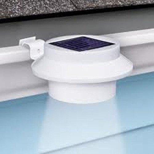 DSstyles Juego de 6 lámparas LED solares de seguridad para uso doméstico, interior y exterior, para valla permanente, jardín, garaje, cobertizo: Amazon.es: ...