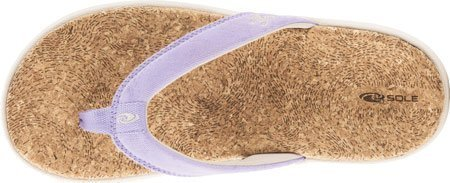 SOLE Women's Cork Flips,Aura,US 5 M - Edge Marketing Pool