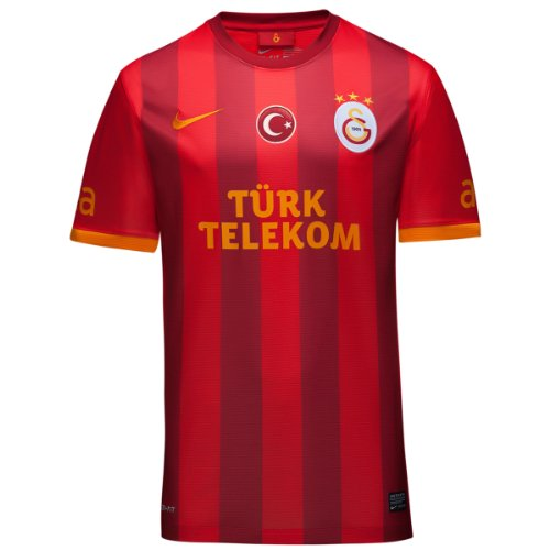 Nike 2013-14 Galatasaray 3rd Football Soccer T-Shirt Jersey (Kids)