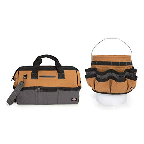 (Dickies Work Gear 57093 18-Inch Bag and Bucket Organizer Combo Pack)