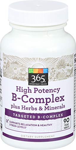 365 Everyday Value, High Potency B-Complex, 90 ct