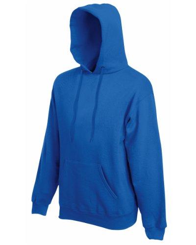 Fruit of the Loom - Sweat-shirt -  Homme -  Bleu - Bleu marine - moyen