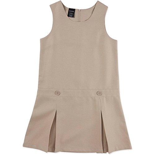 George Girls' School Uniform - Pleated Jumper (16, Khaki)