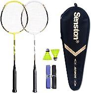 Senston - 2 Player Badminton Racket Set - in