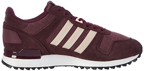 maroon Marron Red Zx Femme Baskets Adidas haze 700 night Coral Basses xwXvq44YP