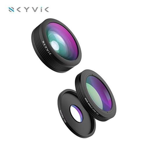 SKYVIK SIGNI 3 In 1 Mobile Camera Lens Kit, Super Wide Angle