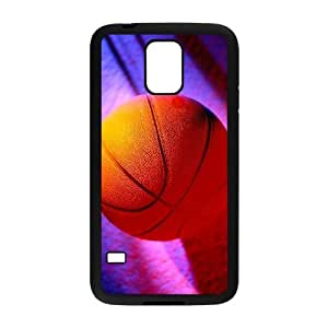 YCHZH Phone case Of Cool and Colorful Basketball Cover Case For Samsung Galaxy S5 i9600