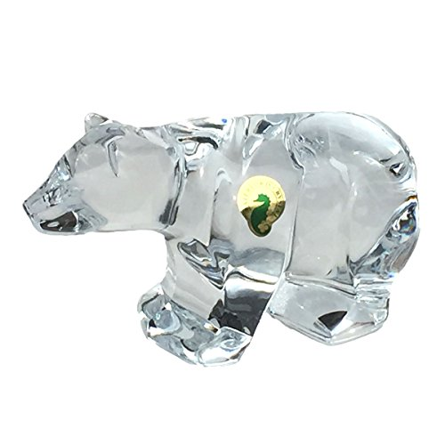 Waterford Crystal Bear Sculpture Paperweight