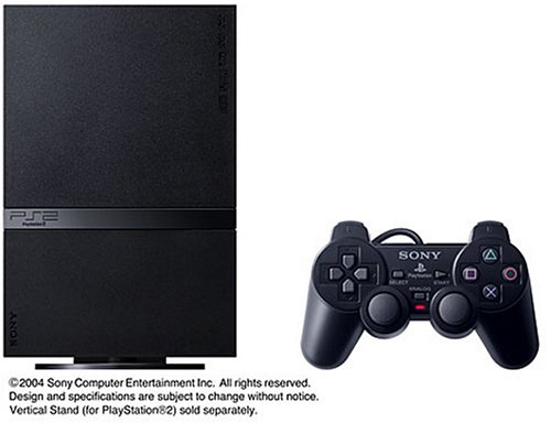 Playstation 2 (SCPH-70000) Charcoal Black Console (Japanese Import)