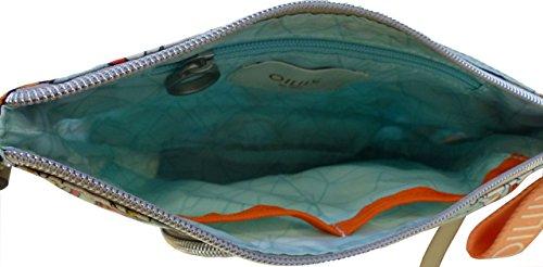 Oilily Damen Charm Ornament Shoulderbag Shz 2 Schultertasche, Türkis (Light Turquoise), 2x15x25 cm
