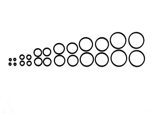 Replacement Assorted O-Rings Set for eCigs, RDA, RBA, Drip Tips, Vapes, APVs and Mods (24pcs Set) by (Mods Drip Tip)