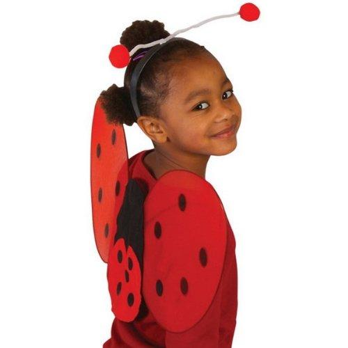 [Ladybug Wing Set (RED) Accessory] (Ladybug Costumes Accessories)