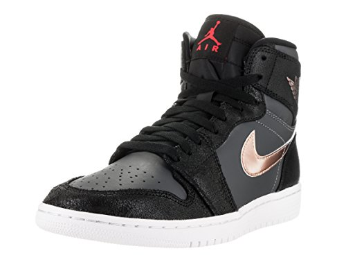Red Black para Air Zapatillas NIKE Retro white Baloncesto High Negro de Bronze Grey 1 dark Jordan Hombre Mtlc W8nHdOxPn
