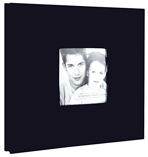 nbsp;cm relié Fashion 20 x Tissu MBI Lilas Post Papier Noir Album 20 nbsp;cm RqvBfn