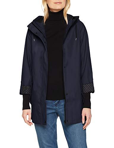 Dorothy Perkins Women's Navy Raincoat Jacket Blue (Navy)