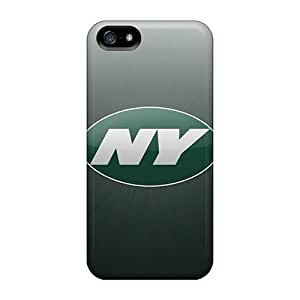 Iphone 5/5s SOy13770eEbT Allow Personal Design High Resolution New York Jets Pattern Great Hard Cell-phone Cases -ErleneRobinson