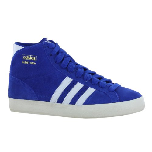 adidas Basket Profi - Zapatilla alta de cuero hombre Blu(Bleu)
