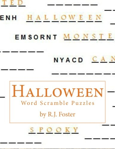 Halloween: Word Scramble -