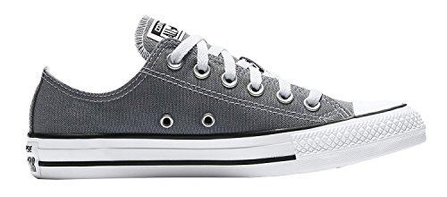 Converse 157658f: Chuck Taylor Chaussures De Sport De Bœuf Fraîche Gris Clair Gris
