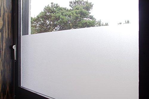 Tamia-Home Statische Fensterfolie 90% UV-Sonnenschutz Selbsthaftende Sichtschutzfolie Glasdekor S001