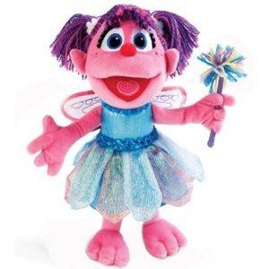 Sesame Street ABBY CADABBY Fairy Plush Doll Toy 23quot