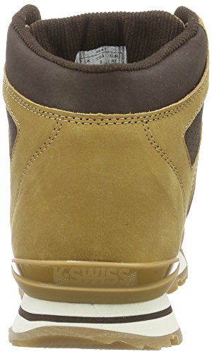 K-Swiss Si-18 Premier Hiker - zapatilla deportiva de piel hombre marrón - Braun (Bone Brown/Espresso/Whisper White 288)