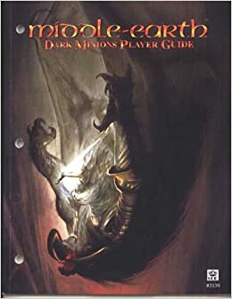 040 middle earth the dragons player guide #3337 stradegy game book.