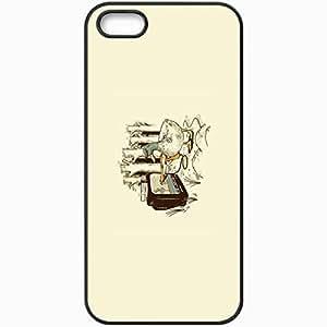 Personalized iPhone 5 5S Cell phone Case/Cover Skin 8 Bit Vendetta Black