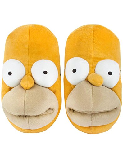 The Simpsons Homer Face Men's 3D Slippers