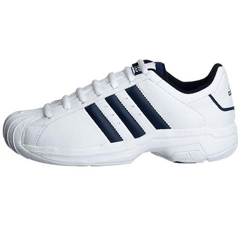huge discount a7119 6b6ff Amazon.com   adidas Men s Superstar 2G Basketball Shoe, White Navy, 11 M    Basketball