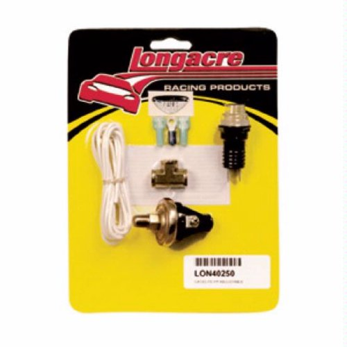 Longacre 40250 Fuel Pressure Gauge Kit