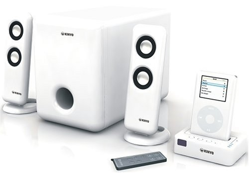 Kinyo DS-122 iPod Audio Docking Station with 2.1 Speaker System by Kinyo