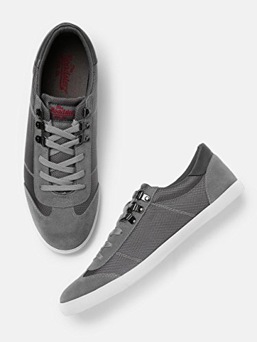 Buy Roadster Men Grey Sneakers at Amazon.in