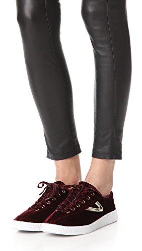 Fashion Tretorn Women's Plus Platino Nylite Sneaker Rubino qqZtvA8