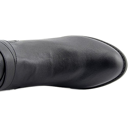 Karen Scott Kvinna Davina Knähöga Läder Rid- Boot Svart