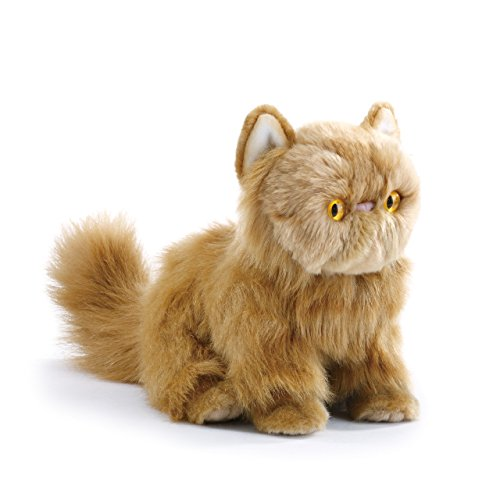 Nat and Jules Small Persian Cat Friend Muted Orange Children's Plush Stuffed Animal ()
