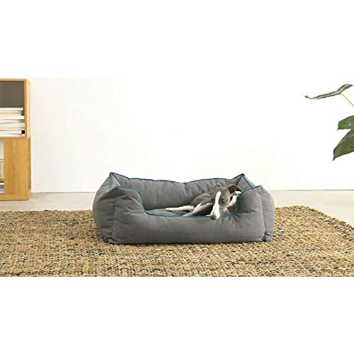 Susupet Dog Bed Super Soft Pet Sofa Cats Bed,Non Slip Bottom Pet Lounger,Self Warming and Breathable Pet Bed Premium…