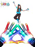 Flashing LED Gloves,Fairytaloid Led Gloves  for Teen Boys Girls- Cool Toys for Age 3-12 Year Old...