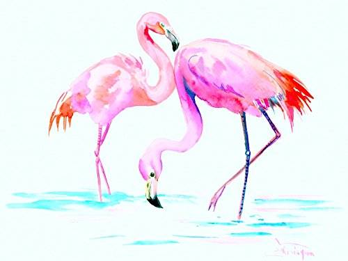 Two Flamingos by OriginalOnly