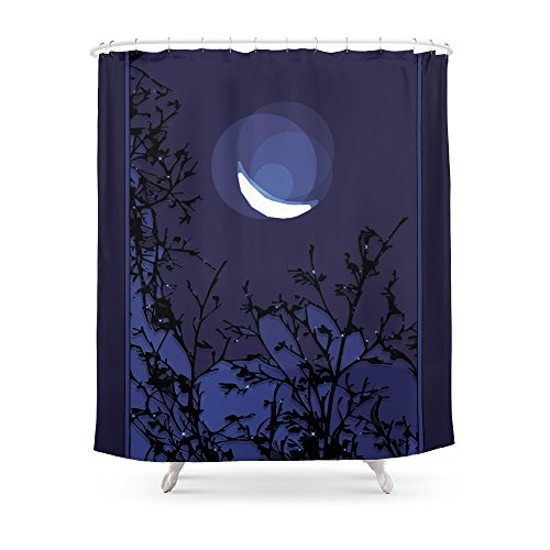 Society6 True Moonlight Shower Curtain 71