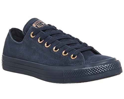 Converse Unisex-Erwachsene CTAS Ox Navy/Cherry Blossom Sneaker Blau (Navy/Navy/Cherry Blossom 426)