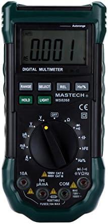 UK LCD Bildschirm beleuchtet Akku-Kapazität Spannungsmessgerät Prüfgerät