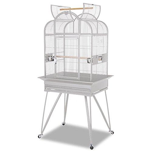 Montana Cages | Sittichkäfig Havana der Vogelkäfig bzw. Voliere für Wellensittich & Co. in hellgrau