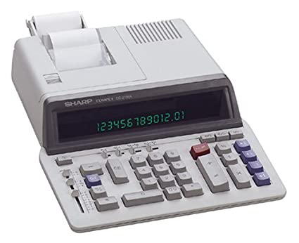 Sharp qs-2760h printing calculator | ebay.