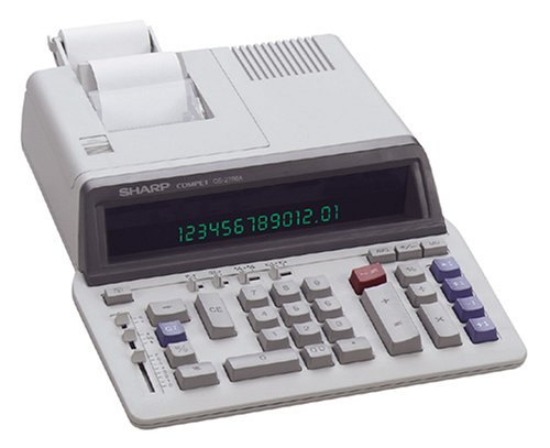 Sharp(R) QS-2760A Professional Use Printing Calculator by Sharp