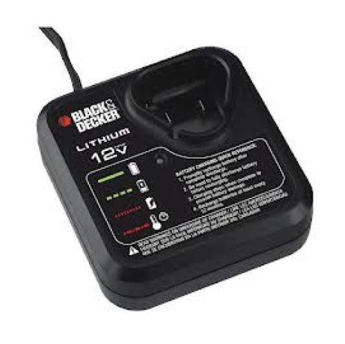 Black & Decker 90592257 Drill/Driver Battery Charger, 12-vol